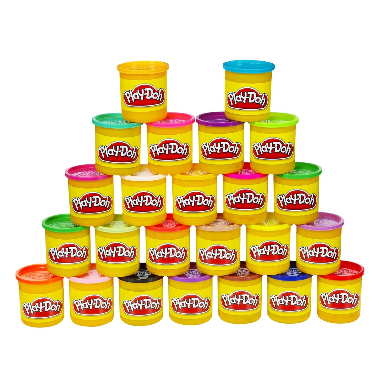 81tEFtVFzBL. SL1500  - Play-Doh 24-Pack of Colors (Frustration Free Packaging)