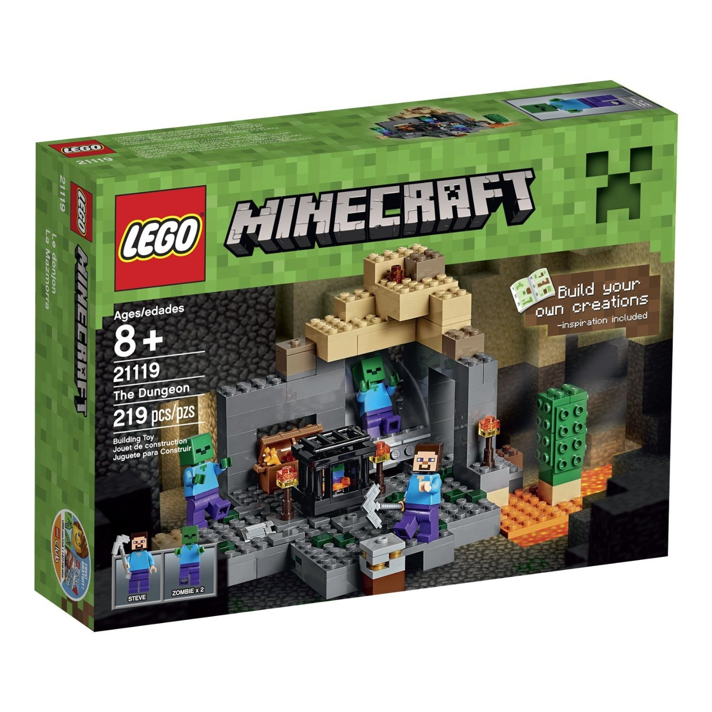 81WW HJSFIL. SL1500  - LEGO Minecraft 21119 the Dungeon Building Kit