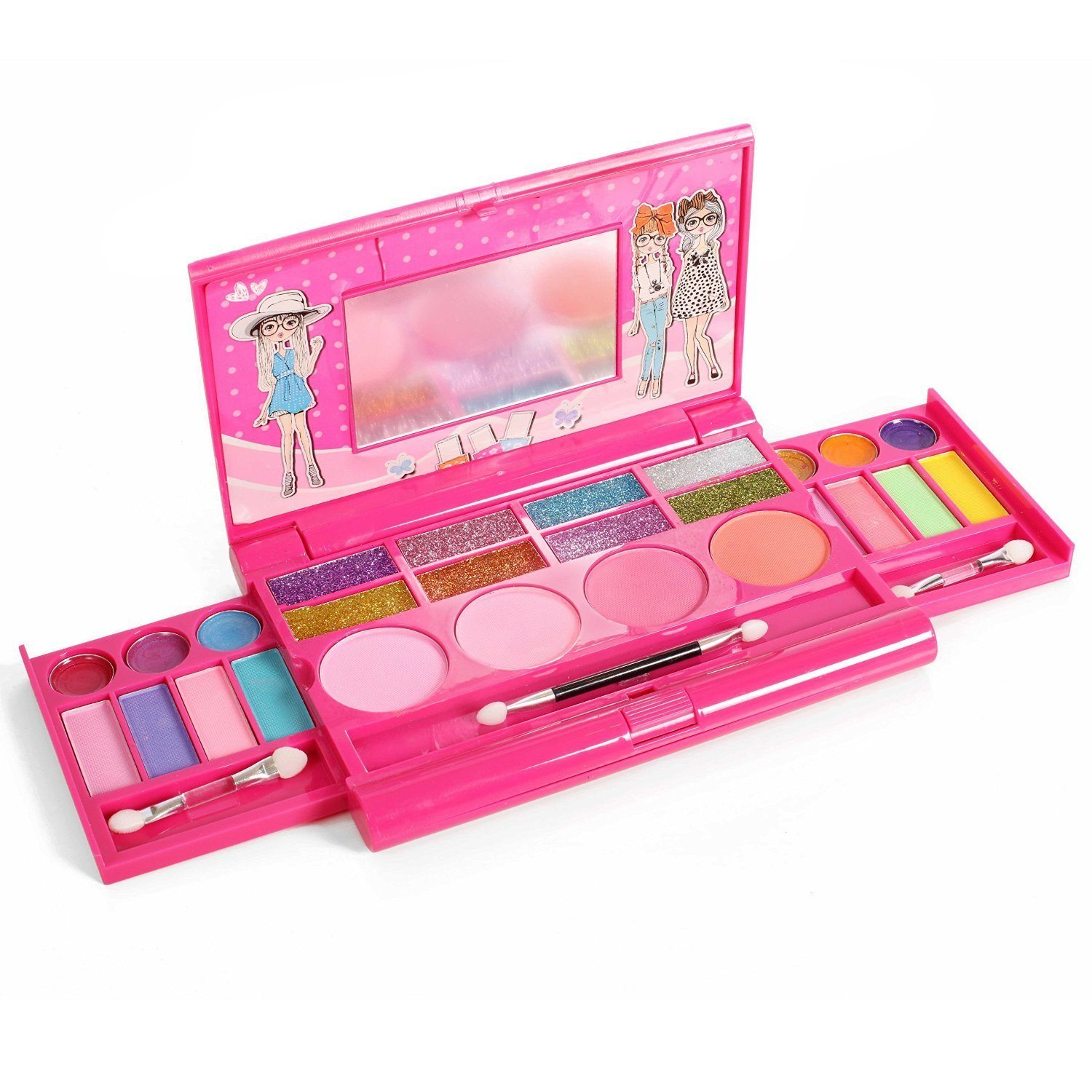 71Aj8HcQtiL. SL1500  - Princess Girl's all-in-one Deluxe Makeup Palette with mirror