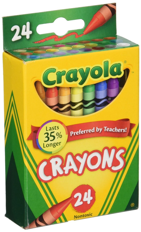 81EvXXB8zyL. SL1500  - Crayola Box of Crayons Non-Toxic Color Coloring School Supplies, 24 Count, 3 Pack (52-0024-3)
