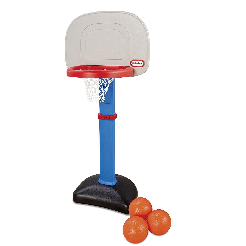 71yQyT9CU6L. SL1500  - Little Tikes Easy Score Basketball Set - 3 Ball