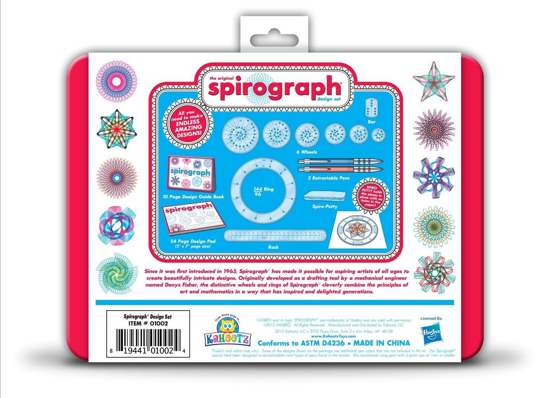 81Go5uI6xrL. SL1500  - Spirograph Design Tin Set