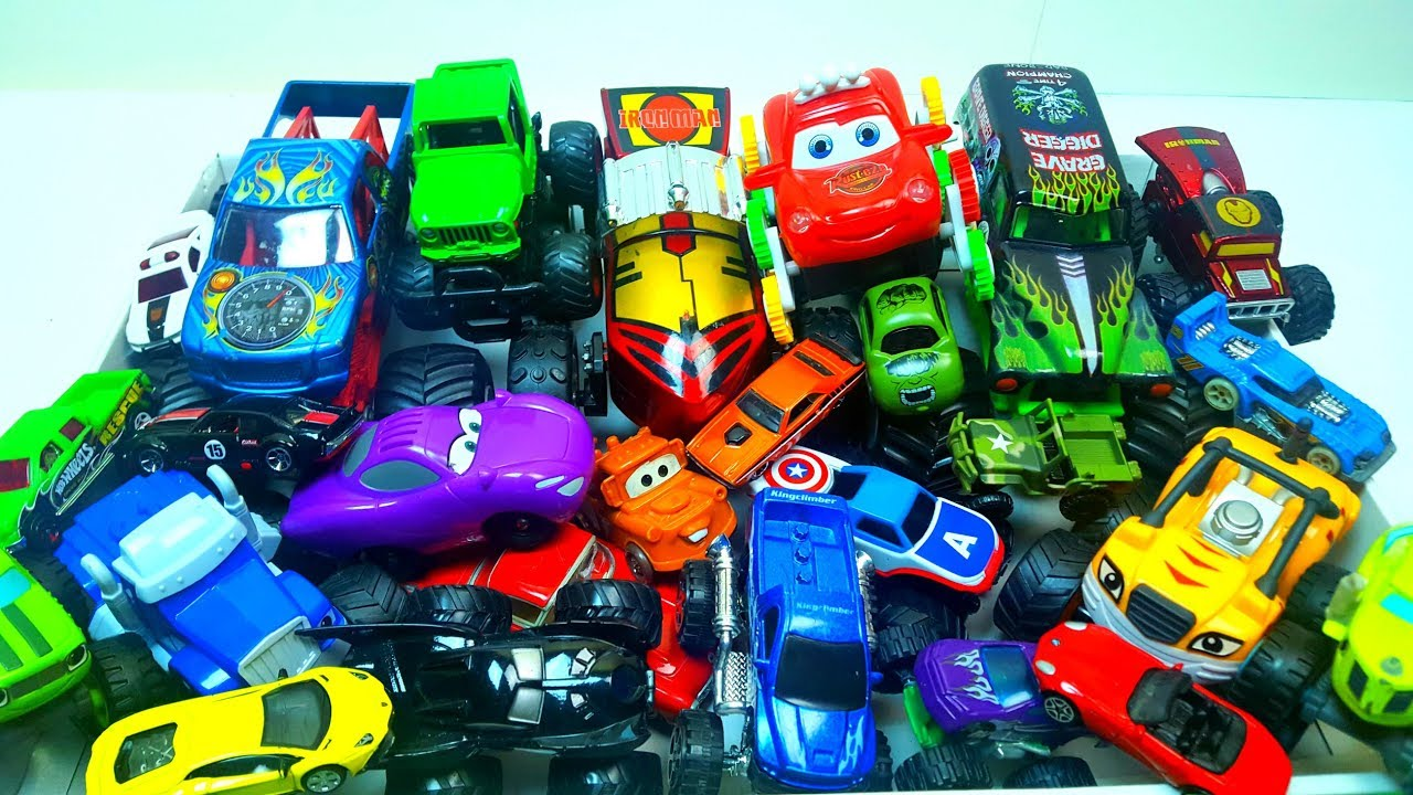 Box Full of Toys 30Cars with Box of Toys tv Hot Whells cars 3 toys and more video for kids - Box Full of Toys 30+Cars with Box of Toys tv Hot Whells cars 3 toys and more video for kids