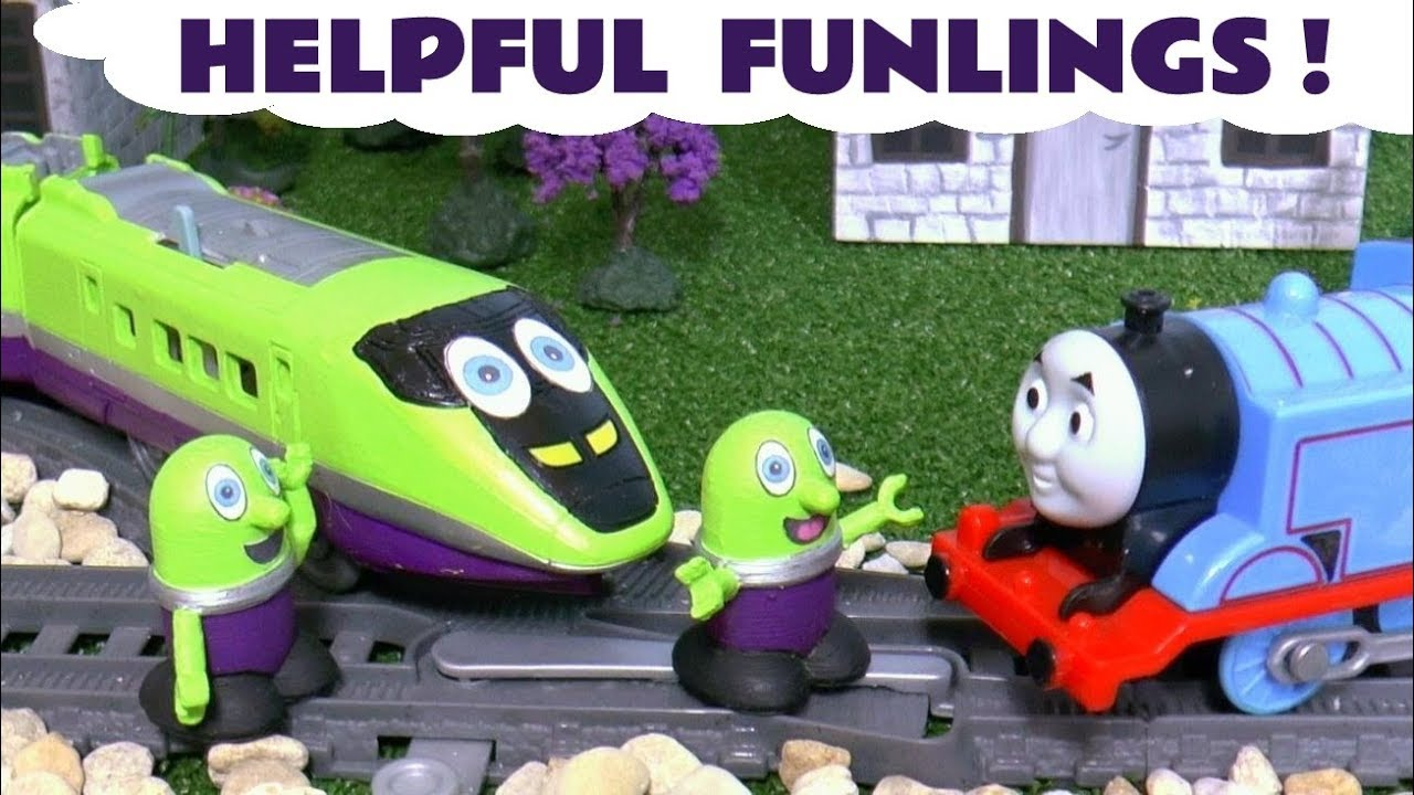 Funny Funlings Helpful Toy Stories with Thomas Friends Trains and Disney Cars for Kids TT4U - Funny Funlings Helpful Toy Stories with Thomas & Friends Trains and Disney Cars for Kids TT4U