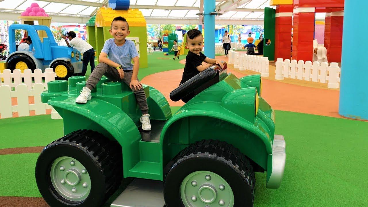 BIGGEST Lego Duplo Ever Kids Fun Playground With Ckn Toys - BIGGEST Lego Duplo  Ever Kids Fun Playground With Ckn Toys