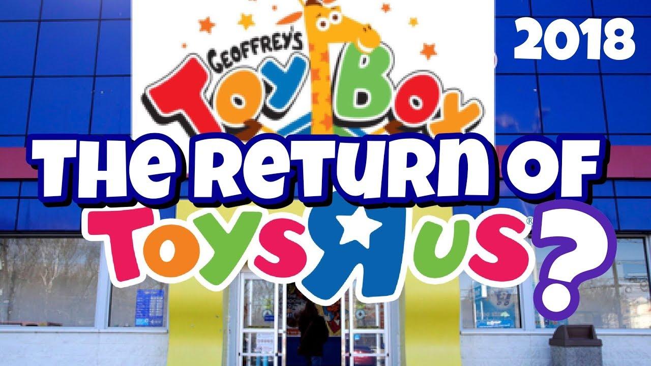 Geoffreys TOY Box The Return of TOYS R US - Geoffrey's TOY Box!!! The Return of TOYS R US???!!!