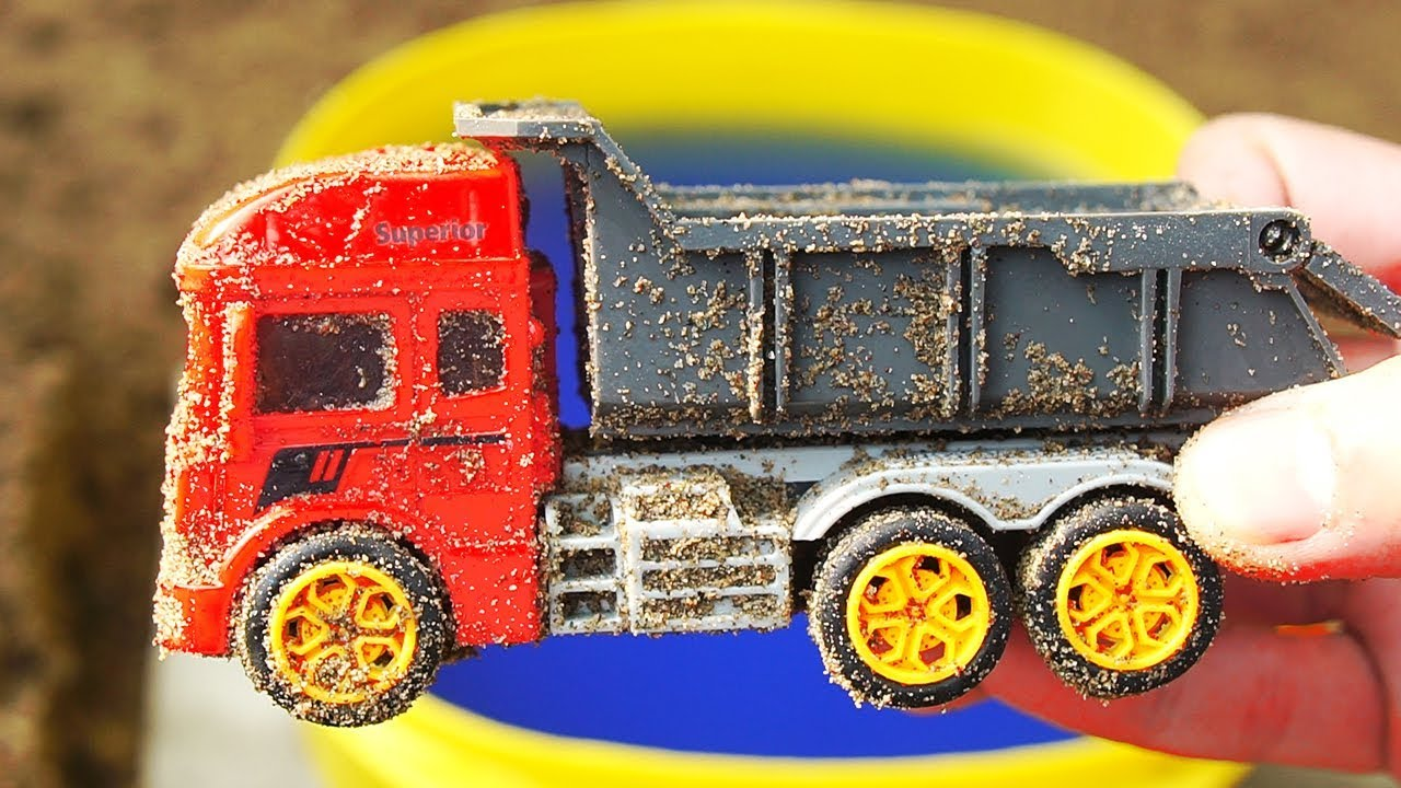 vbp 11678 Trucks for kids Toys review and Learn Name sounds Excavator Crane cement mixer - Trucks for kids, Toys review and Learn Name sounds Excavator , Crane , cement mixer