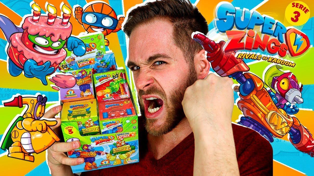 SuperZings Series 3 UNBOXING CAJA 8 ROBOTS SUPERBOTS Mega UNBOXING SuperZings en Pe Toys - SuperZings Series 3 UNBOXING CAJA 8 ROBOTS SUPERBOTS | Mega UNBOXING SuperZings en Pe Toys