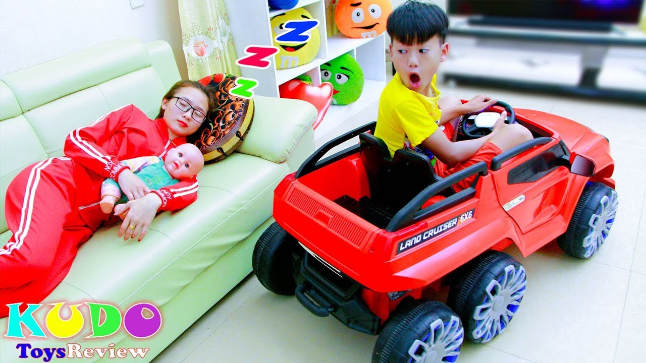 Are You Sleeping with Mama Kudo Play Car Toys Family Fun Trip - Are You Sleeping with Mama! Kudo Play Car Toys Family Fun Trip