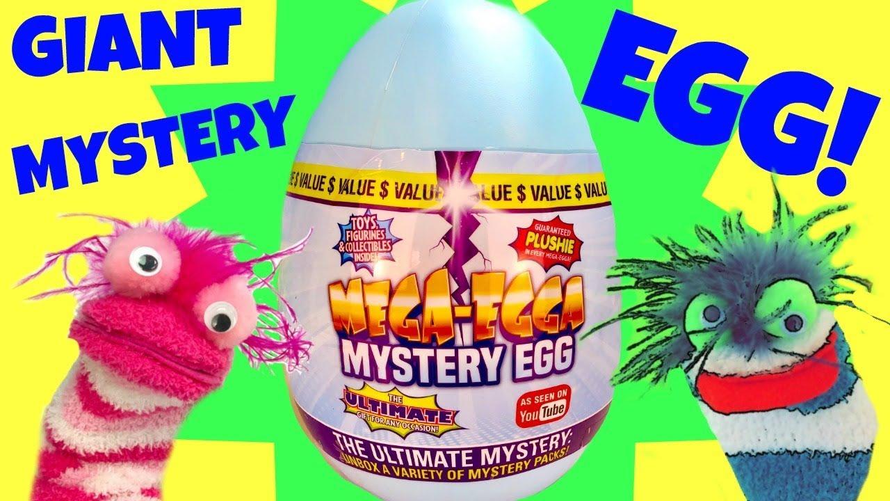Mega Egga Mystery Egg What Surprise Toys Are Inside - Mega-Egga Mystery Egg! What Surprise Toys Are Inside?