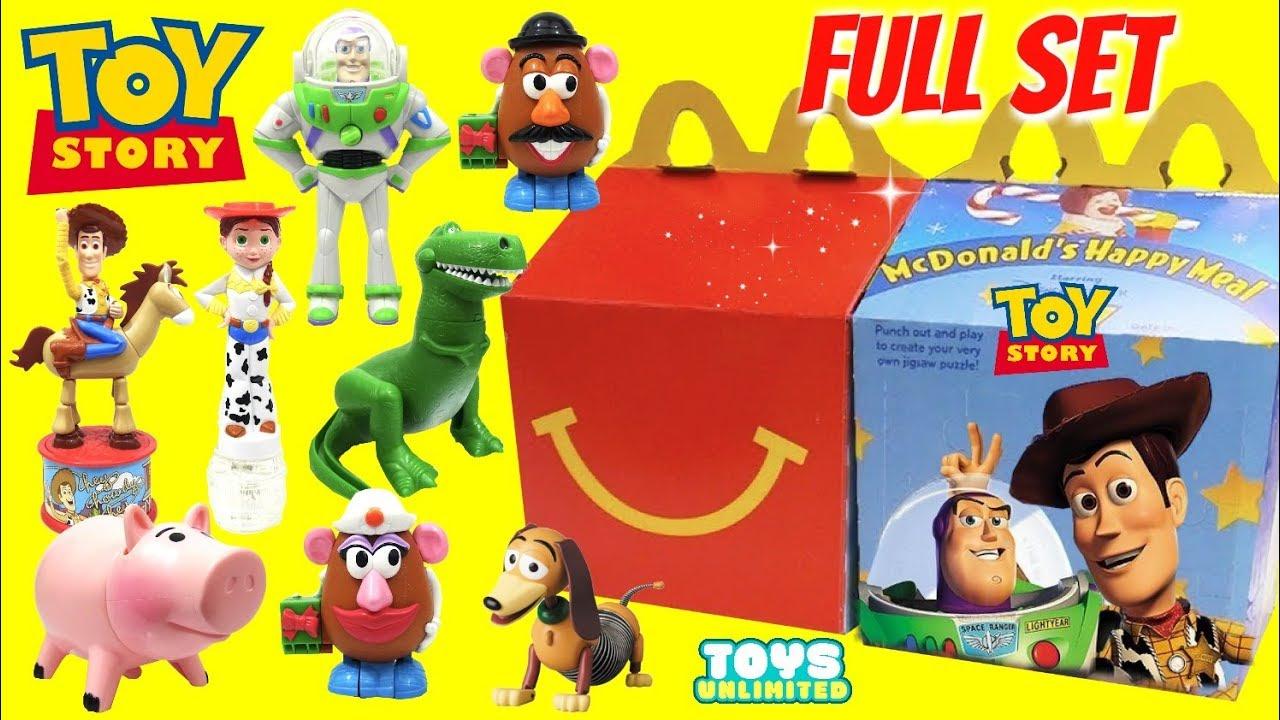 Disney Pixars Toy Story McDonalds Happy Meal Toys with Buzz Lightyear Sheriff Woody - Disney Pixar's Toy Story McDonald's Happy Meal Toys with Buzz Lightyear & Sheriff Woody