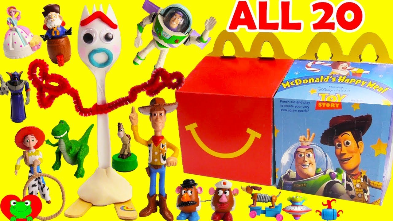 Toy Story 4 McDonalds Happy Meal Toys Full Set 20 - Toy Story 4 McDonald's Happy Meal Toys Full Set 20