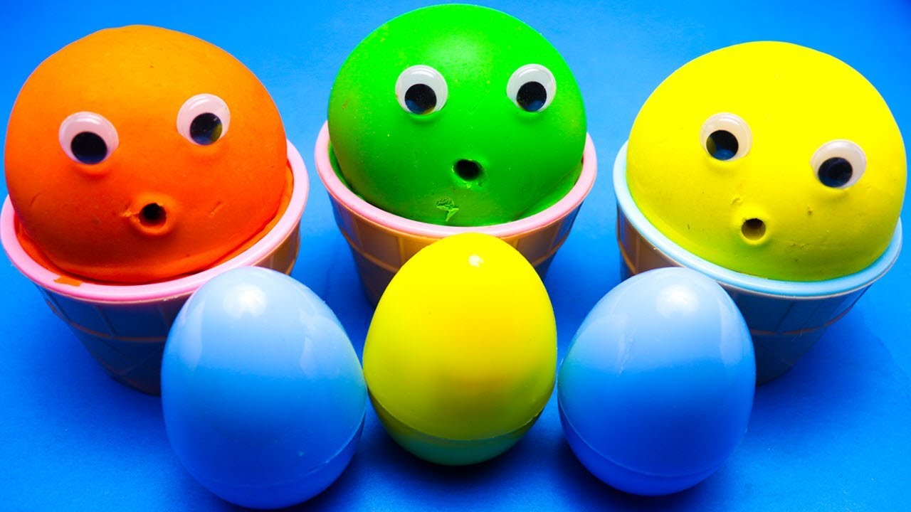 3 Colors Play Doh Ice Cream Cups PJ Masks Surprise Toys LOL Surprise Eggs - 3 Colors Play Doh Ice Cream Cups PJ Masks Surprise Toys LOL Surprise Eggs