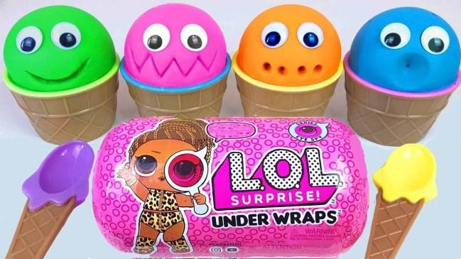 4 Colors Play Doh Ice Cream Cups PJ Masks Chupa Chups Surprise Toys LOL Kinder Surprise Eggs 7 - 4-Colors-Play-Doh-Ice-Cream-Cups-PJ-Masks-Chupa-Chups-Surprise-Toys-LOL-Kinder-Surprise-Eggs-7