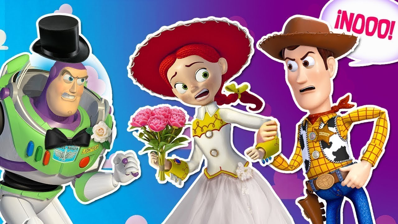 BUZZ JESSIE are GETTING MARRIED Woody RUINS the WEDDING Fantastic Toy Story 4 - 🚀 BUZZ & JESSIE are GETTING MARRIED !🤠 Woody RUINS the WEDDING !💔 Fantastic Toy Story 4
