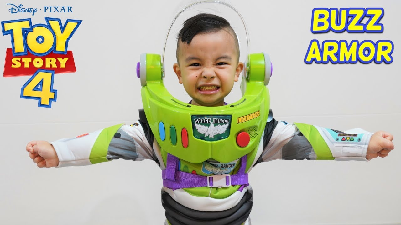 Buzz Lightyear Space Ranger Armor with Jet Pack Toy Story 4 CKN - Buzz Lightyear Space Ranger Armor with Jet Pack Toy Story 4 CKN
