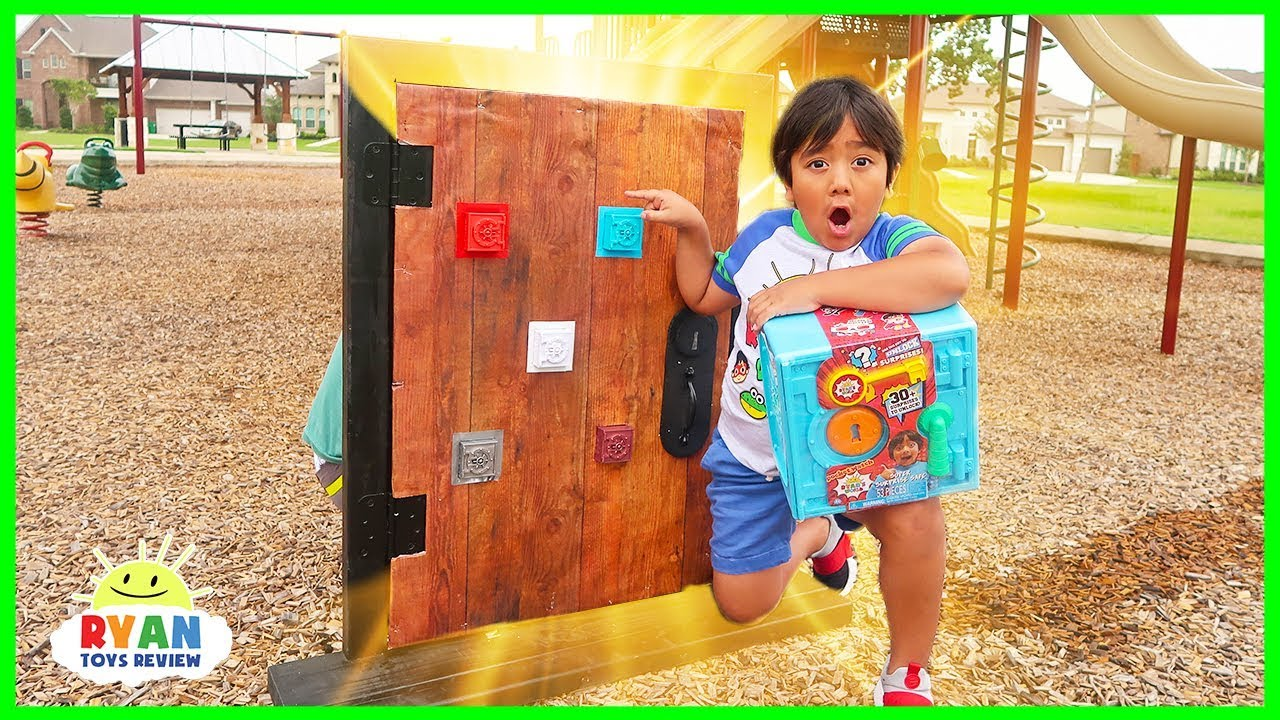 Ryan found a secret door from his room to the playground - Ryan found a secret door from his room to the playground!!!