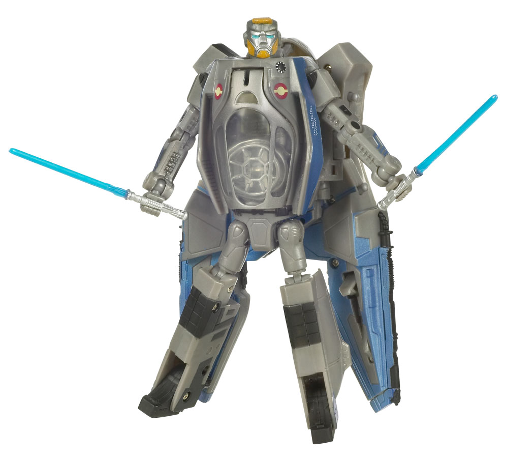 Star Wars Transformers Anakin Skywalker To Jedi Starfighter