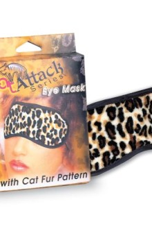 BLINDFOLD LEOPARD EYE MASK