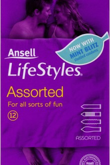 ANSELL ASSORTED CONDOMS