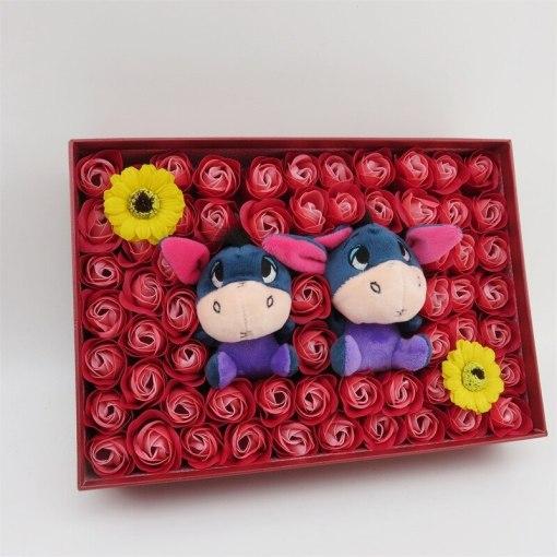 Cartoon stitch bear plush toys Doll kids toys stuffed animals Creative Valentine s Day Birthday Wedding