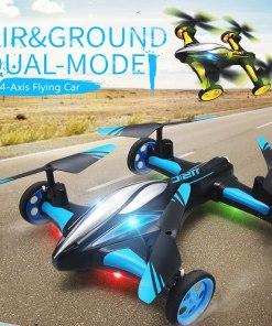 G RC Aircraft Drone Air Ground Flying Car H Quadcopter Camera Light One key Return