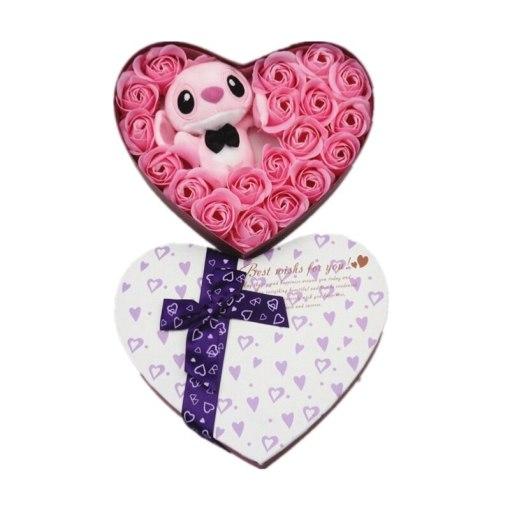 Handmade stitch plush toys stuffed animals small bouquets gift box creative Valentine s birthday graduation gifts