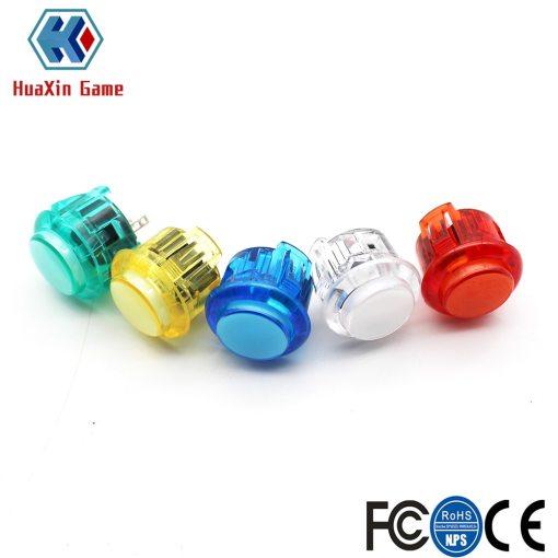 pcs Transparent No LED Arcade mm mm Push Button Copy SANWA OBSF  OBSN  for