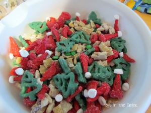 Santa Trail Mix