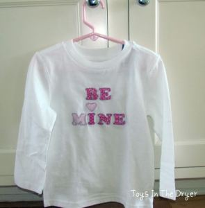 Tutorial for making applique shirts