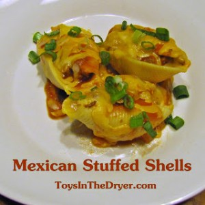 Mexican Stuffed Shells–Pinned it, Did it!