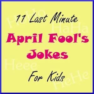 April Fools pranks, activities, Jokes