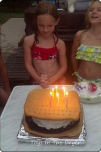 giant smore's cake