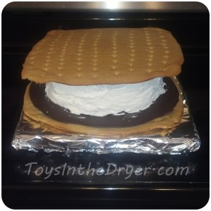 giant smores cake