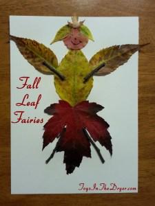fall leaf fairies