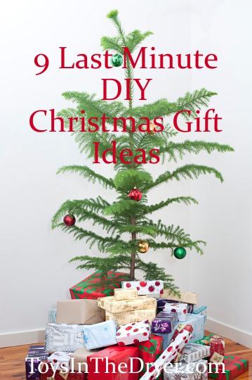 Last Minute DIY Christmas Presents
