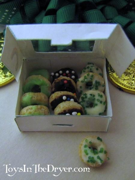 leprechaun doughnuts free box printable