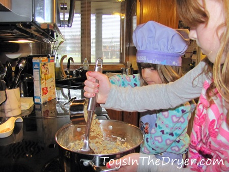Salted Caramel Krispie Bites 1