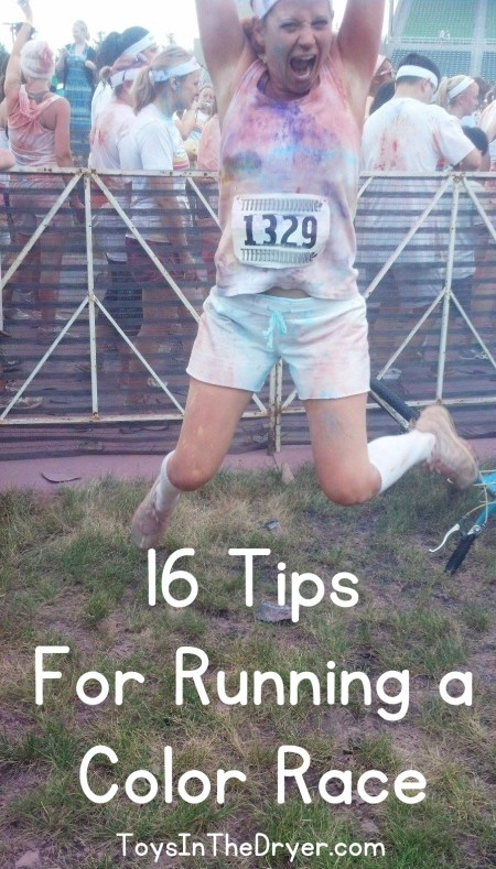 Color Race Tips