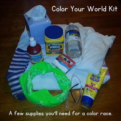 color race kit