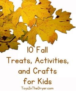 10 Fall Treats, Activities, and Crafts for Kids