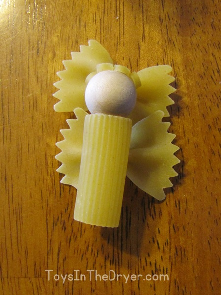 pasta angel, macaroni angel