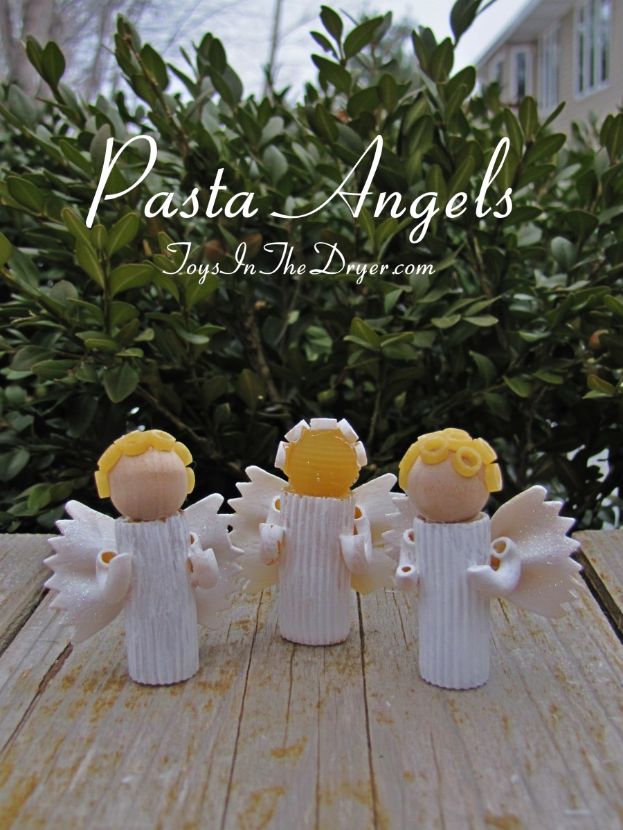 How To Make A Pasta Angel