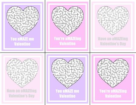Maze Valentine