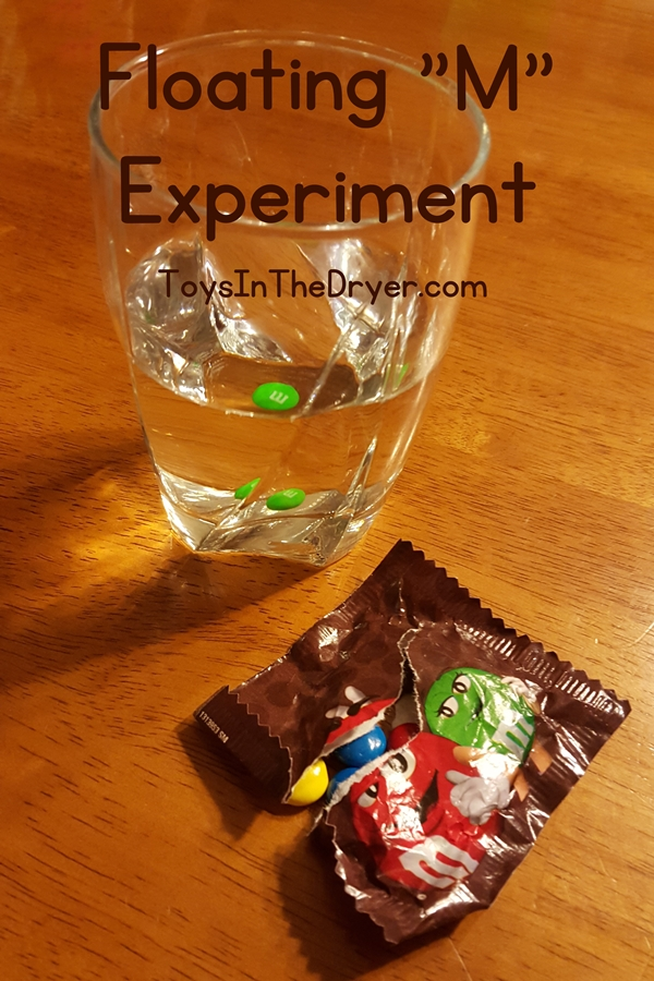 Floating M&M Experiment