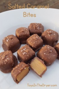 Easy Salted Caramel Bites