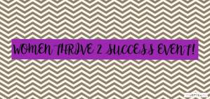 Women Thrive 2 Success