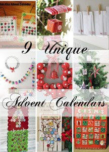 9 Unique Advent Calendars