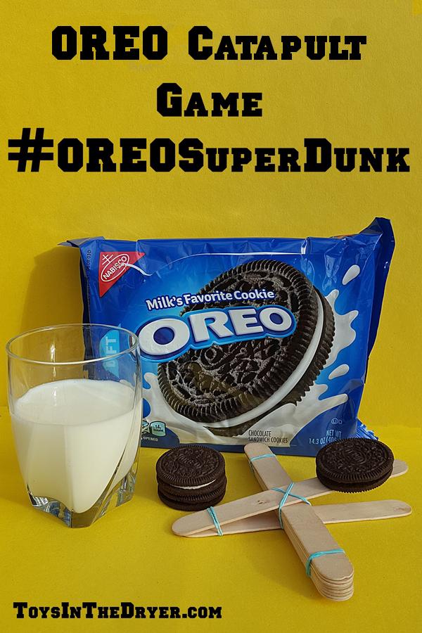 OREO Catapult Game #OREOSuperDunk
