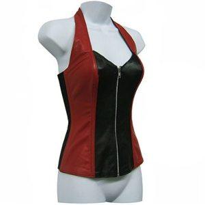 Red & Black Halter